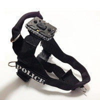 Canine Harness & Mount - Small (includes 2 patches & Strap/Shirt Clip Mount)