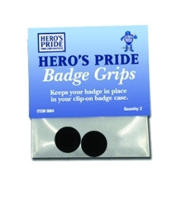 Badge Grips - Set of 2 in Polybag w/Header Card