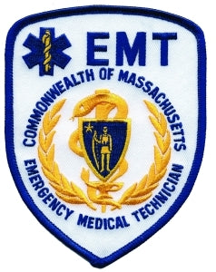 EMT COMM. OF MASS - 3-3/4 X 5""
