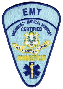 CONNECTICUT CERTIFIED EMT - 4-1/8 x 5-3/4""