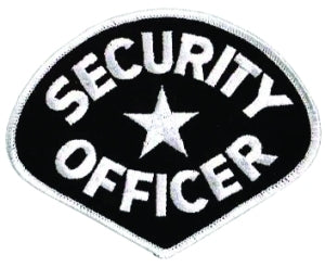 SECURITY OFFICER - White/Black