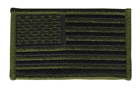 U.S. FLAG - Forward - ACU, Hook - 3-1/4 X 1-13/16""