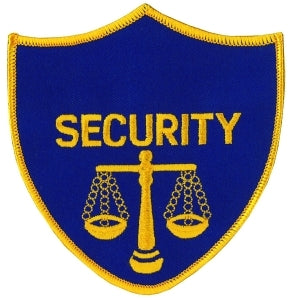 SECURITY w/Scales of Justice