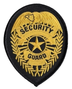 SECURITY GUARD - Med Gold/Black