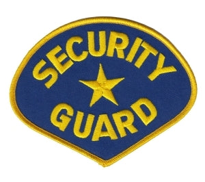 SECURITY GUARD - Med Gold/Royal
