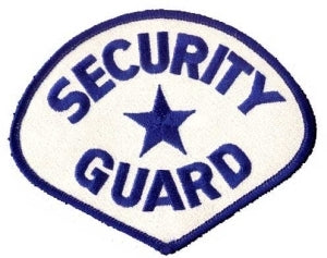 SECURITY GUARD - Royal Blue/White