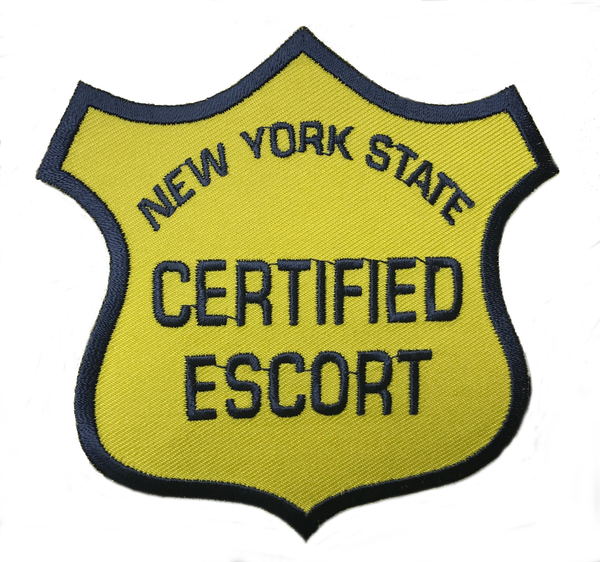 New York State Certified Escort Patch