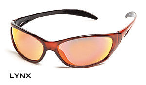 Body Specs LYNX Sunglasses, Red Frame/Red Mirror Lens
