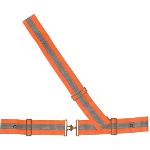 Fluorescent & Reflective Safbelts
