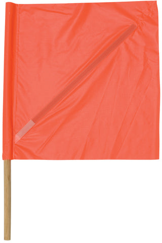 Vinyl Safety Flag with Plastic Stiffener