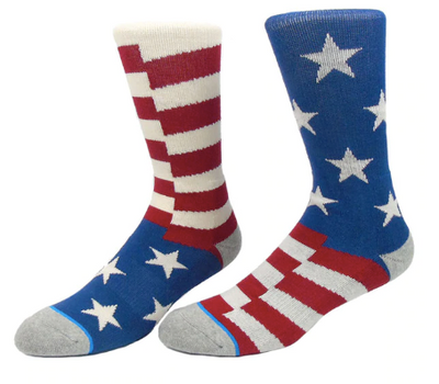 United States Flag Socks - Speciality