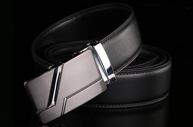 Choose To Rep 110cm (31-33 Inches) Silver Slash Buckle