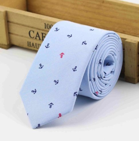 Anchor Blue Tie - Choose To Rep