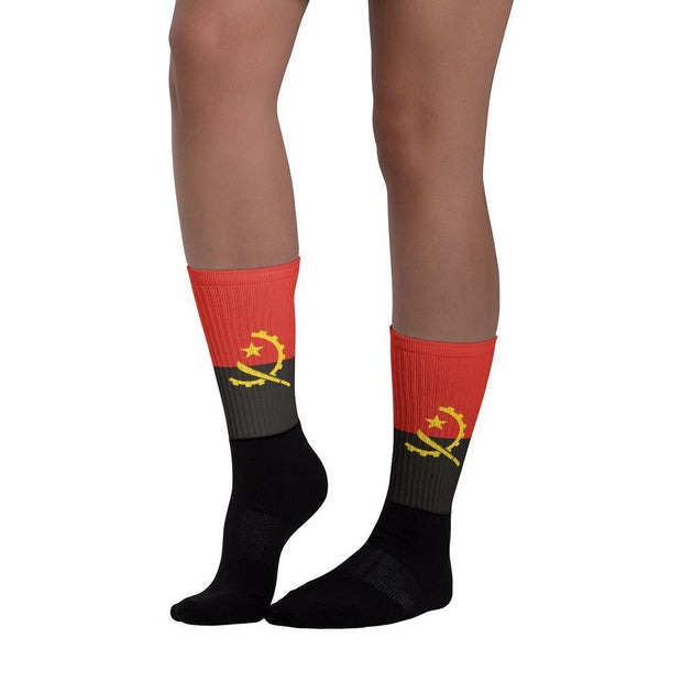 Angola Country Flag Socks Choose To Rep Country Flag Socks, State Socks, Flag Socks, Patriotic Socks, Patriotic Products, Country Watches