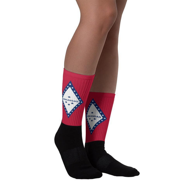 Arkansas - Flag Socks Choose To Rep Country Flag Socks, State Socks, Flag Socks, Patriotic Socks, Patriotic Products, Country Watches