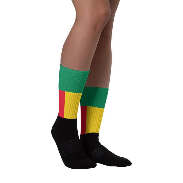 Benin Flag Socks Choose To Rep Country Flag Socks, State Socks, Flag Socks, Patriotic Socks, Patriotic Products, Country Watches