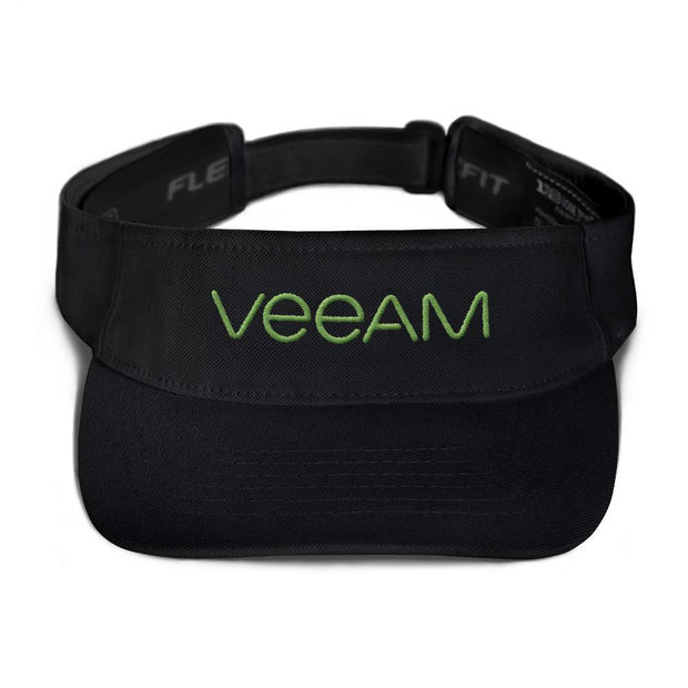Choose To Rep Black Veeam Flexfit Visor