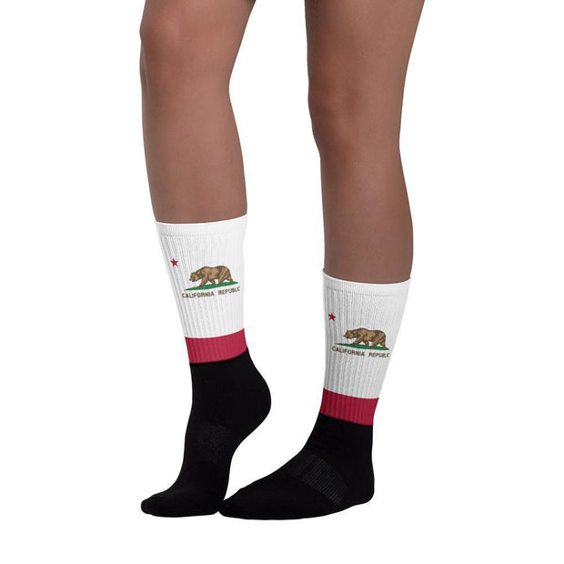 California Flag Socks Choose To Rep Country Flag Socks, State Socks, Flag Socks, Patriotic Socks, Patriotic Products, Country Watches