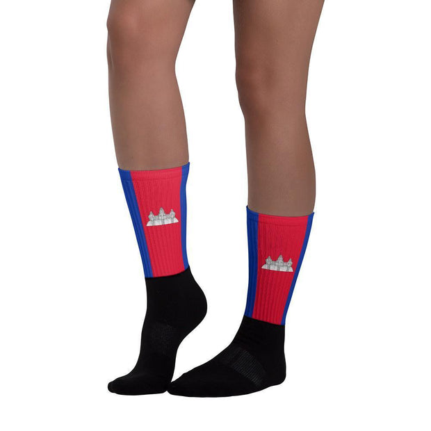 Cambodia Flag Socks Choose To Rep Country Flag Socks, State Socks, Flag Socks, Patriotic Socks, Patriotic Products, Country Watches