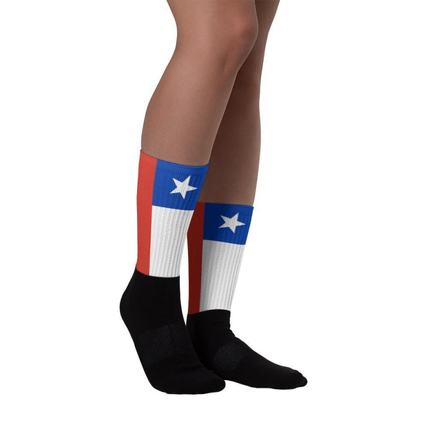 Chile Flag Socks Choose To Rep Country Flag Socks, State Socks, Flag Socks, Patriotic Socks, Patriotic Products, Country Watches