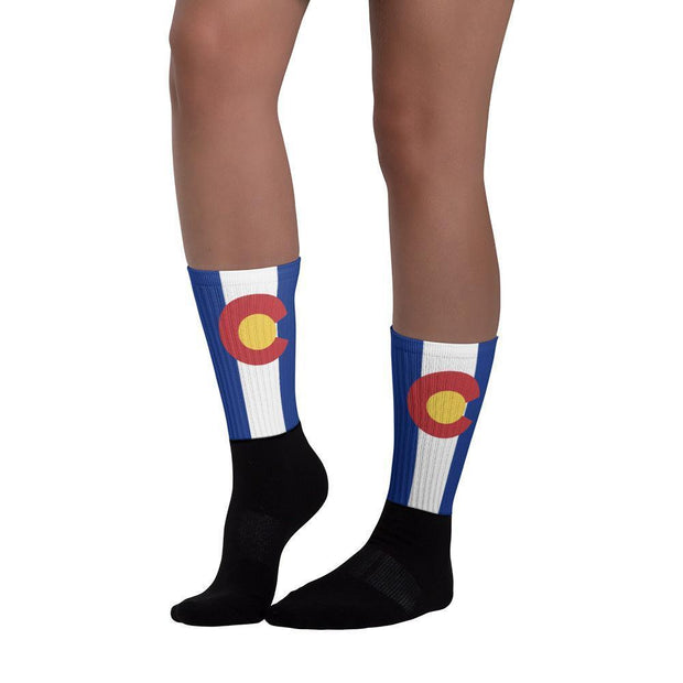 Colorado Flag Socks Choose To Rep Country Flag Socks, State Socks, Flag Socks, Patriotic Socks, Patriotic Products, Country Watches