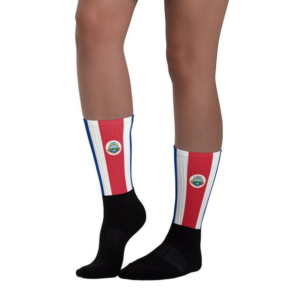 Costa Rica Flag Socks Choose To Rep Country Flag Socks, State Socks, Flag Socks, Patriotic Socks, Patriotic Products, Country Watches