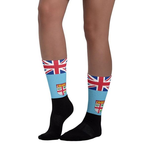 Fiji Flag Socks Choose To Rep Country Flag Socks, State Socks, Flag Socks, Patriotic Socks, Patriotic Products, Country Watches