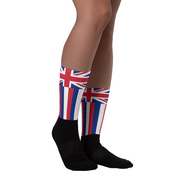 Hawaii Flag Socks - Choose To Rep