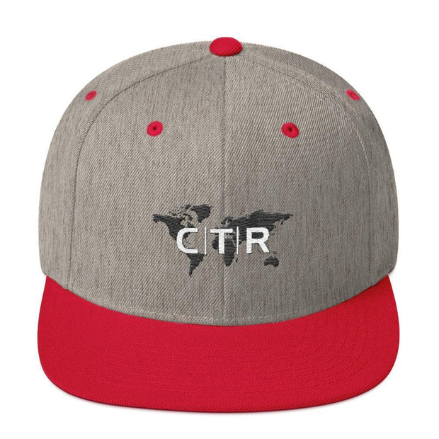 Choose to Rep - Snapback Hat Choose To Rep Heather Grey/ Red Country Flag Socks, State Socks, Flag Socks, Patriotic Socks, Patriotic Products, Country Watches