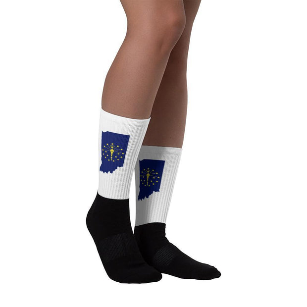 Indiana - State Socks Choose To Rep Country Flag Socks, State Socks, Flag Socks, Patriotic Socks, Patriotic Products, Country Watches