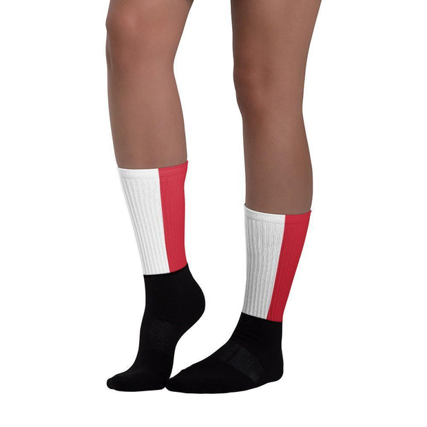 Indonesia Flag Socks Choose To Rep Country Flag Socks, State Socks, Flag Socks, Patriotic Socks, Patriotic Products, Country Watches