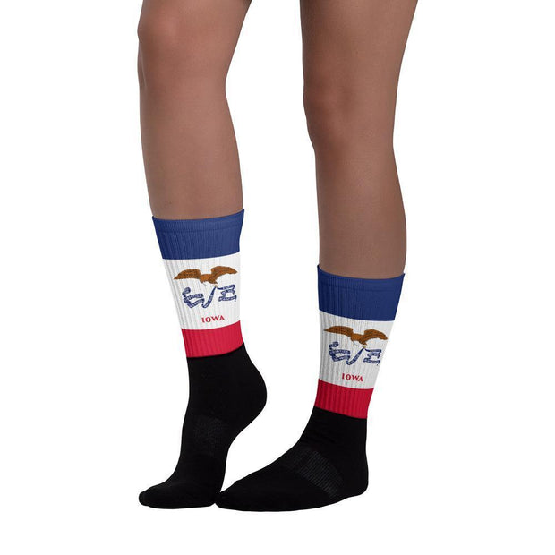 Iowa Flag Socks Choose To Rep Country Flag Socks, State Socks, Flag Socks, Patriotic Socks, Patriotic Products, Country Watches