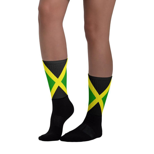 Jamaica - Flag Socks Choose To Rep Country Flag Socks, State Socks, Flag Socks, Patriotic Socks, Patriotic Products, Country Watches