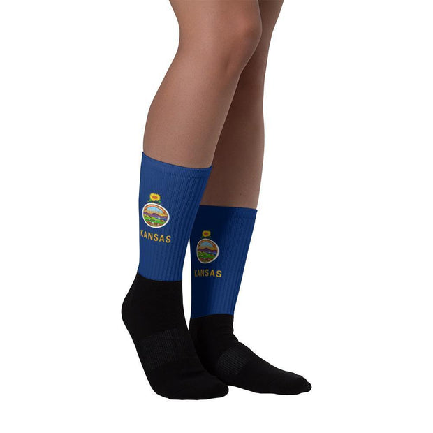 Kansas - Flag Socks Choose To Rep Country Flag Socks, State Socks, Flag Socks, Patriotic Socks, Patriotic Products, Country Watches