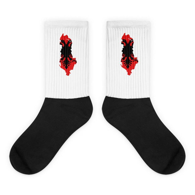 Albania Country Flag Socks Choose To Rep M (6-8) Country Flag Socks, State Socks, Flag Socks, Patriotic Socks, Patriotic Products, Country Watches