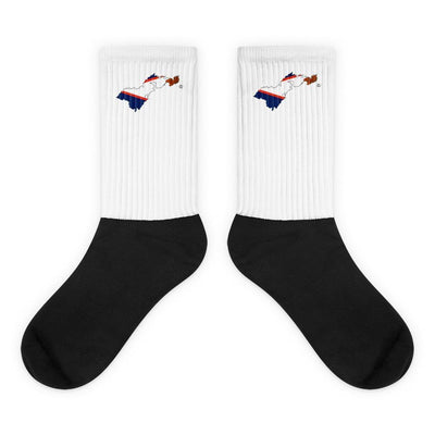 American Samoa Country Socks - Choose To Rep