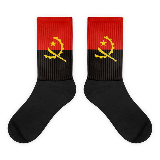 Angola Country Flag Socks Choose To Rep M (6-8) Country Flag Socks, State Socks, Flag Socks, Patriotic Socks, Patriotic Products, Country Watches