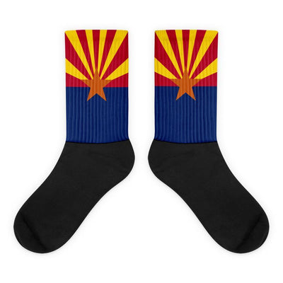 Arizona Flag Socks Choose To Rep M (6-8) Country Flag Socks, State Socks, Flag Socks, Patriotic Socks, Patriotic Products, Country Watches