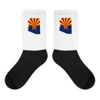 Arizona State Flag Socks Choose To Rep M (6-8) Country Flag Socks, State Socks, Flag Socks, Patriotic Socks, Patriotic Products, Country Watches
