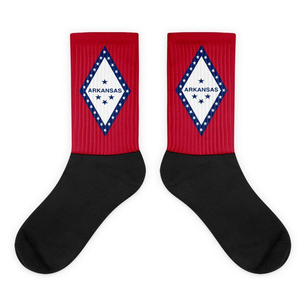 Arkansas - Flag Socks Choose To Rep M (6-8) Country Flag Socks, State Socks, Flag Socks, Patriotic Socks, Patriotic Products, Country Watches