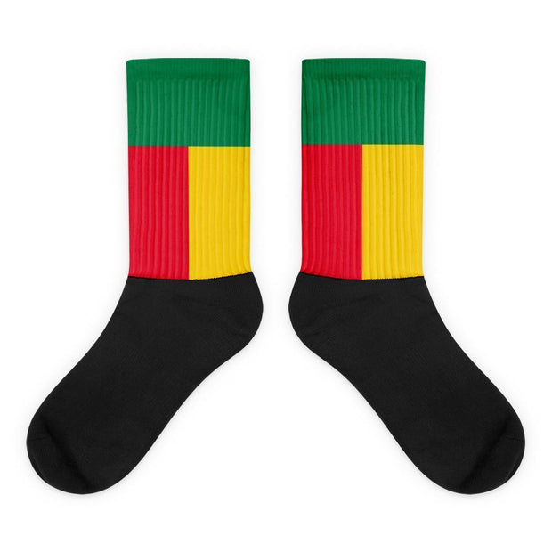 Benin Flag Socks Choose To Rep M (6-8) Country Flag Socks, State Socks, Flag Socks, Patriotic Socks, Patriotic Products, Country Watches