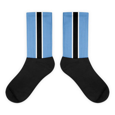 Botswana Flag Socks Choose To Rep M (6-8) Country Flag Socks, State Socks, Flag Socks, Patriotic Socks, Patriotic Products, Country Watches