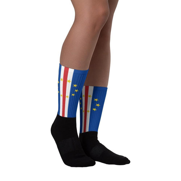 Cape Verde Flag Socks Choose To Rep M (6-8) Country Flag Socks, State Socks, Flag Socks, Patriotic Socks, Patriotic Products, Country Watches