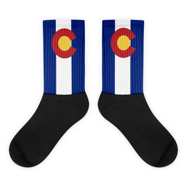 Colorado Flag Socks Choose To Rep M (6-8) Country Flag Socks, State Socks, Flag Socks, Patriotic Socks, Patriotic Products, Country Watches