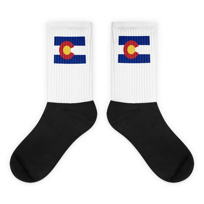Colorado - State Socks Choose To Rep M (6-8) Country Flag Socks, State Socks, Flag Socks, Patriotic Socks, Patriotic Products, Country Watches