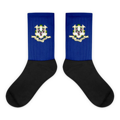 Connecticut Flag Socks Choose To Rep M (6-8) Country Flag Socks, State Socks, Flag Socks, Patriotic Socks, Patriotic Products, Country Watches
