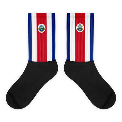 Costa Rica Flag Socks Choose To Rep M (6-8) Country Flag Socks, State Socks, Flag Socks, Patriotic Socks, Patriotic Products, Country Watches