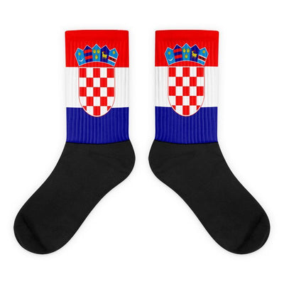 Croatia Flag Socks Choose To Rep M (6-8) Country Flag Socks, State Socks, Flag Socks, Patriotic Socks, Patriotic Products, Country Watches