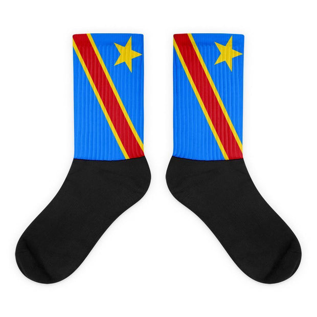 Democratic Republic of the Congo Flag Socks Choose To Rep M (6-8) Country Flag Socks, State Socks, Flag Socks, Patriotic Socks, Patriotic Products, Country Watches