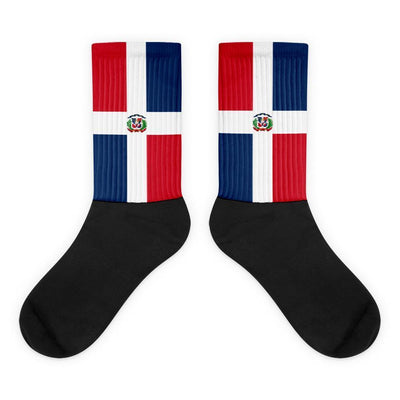 Dominican Republic Flag Socks - Choose To Rep
